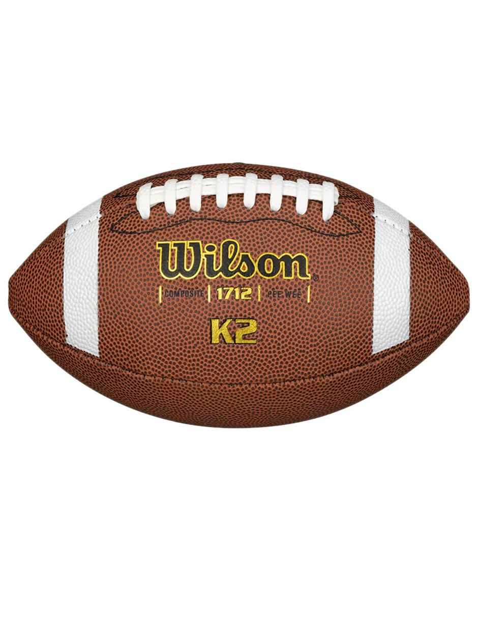 Balón Wilson K2 Pee Wee Fútbol americano Precio Lista 8bc51aff767